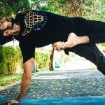 Yoga in Dubai with Yoga teacher Manu