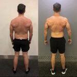 Before and after weight loss training results in Dubai - PT Marc Larsen