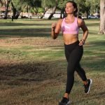 Running for fitness in Abu Dhabi with PT Verdiana