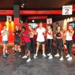 group boxing lessons in Dubai with boxing coach marc larsen