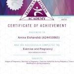 Exercise during pregnancy certification-pdf