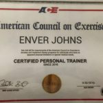 Dubai PT Enver Johns - Training Certificate 1