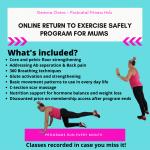 Gemma Ovens PT In RAK - Mums Back To Fitness