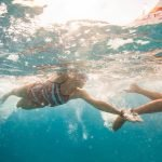 Swimming lessons in Abu Dhabi for children with coach Emma