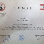 Training certificate - PT In Dubai Marc