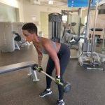 female personal trainer in sharjah for strength - mulhima