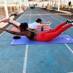 ladies personal trainer in sharjah for at home training - mulhima