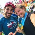 swim coaching for triathlon training in Abu Dhabi with swimming coach Emma
