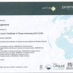 Dubai PT Olga - Personal Training Certificate