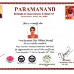Abu Dhabi Yoga Coach Vera - 300hrs Yoga Teaching Certificate