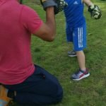 Kids fitness coaching in Abu Dhabi with Coach Nader