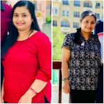 PT in Dubai Tasneem - Client weight loss results image