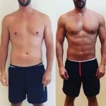 Personal training in Dubai for weight loss with Coach Sam Wright - client transformation image 2
