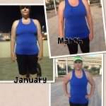 Personal training in Dubai for weight loss with Coach Sam Wright - client transformation image 3