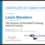 Essence of DB Training CEC Personal Trainer LJ - Abu Dhabi