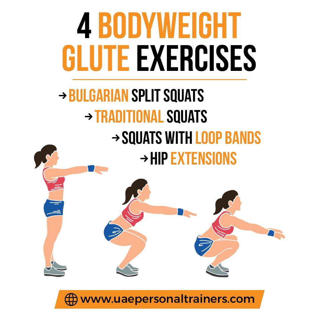 Glutes Training In Dubai - Benefits Infographic