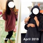 Personal Trainer In Dubai Tasneem - Client before and after image 1 - body transformation