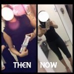 Personal Trainer In Dubai Tasneem - Client before and after image 4 - body transformation