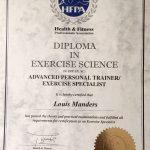 Training Certificate - Abu Dhabi Coach Lou