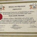 Carina Fritzmann - Nutrition Coaching Certificate - Dubai Personal Training