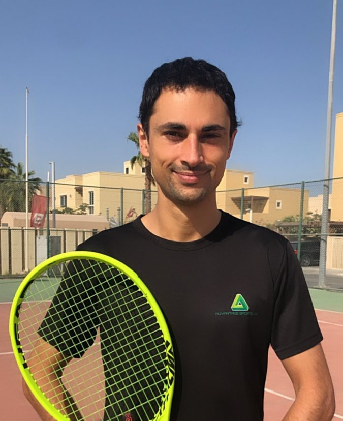 James Mendes - Private Tennis Coaching In Abu Dhabi