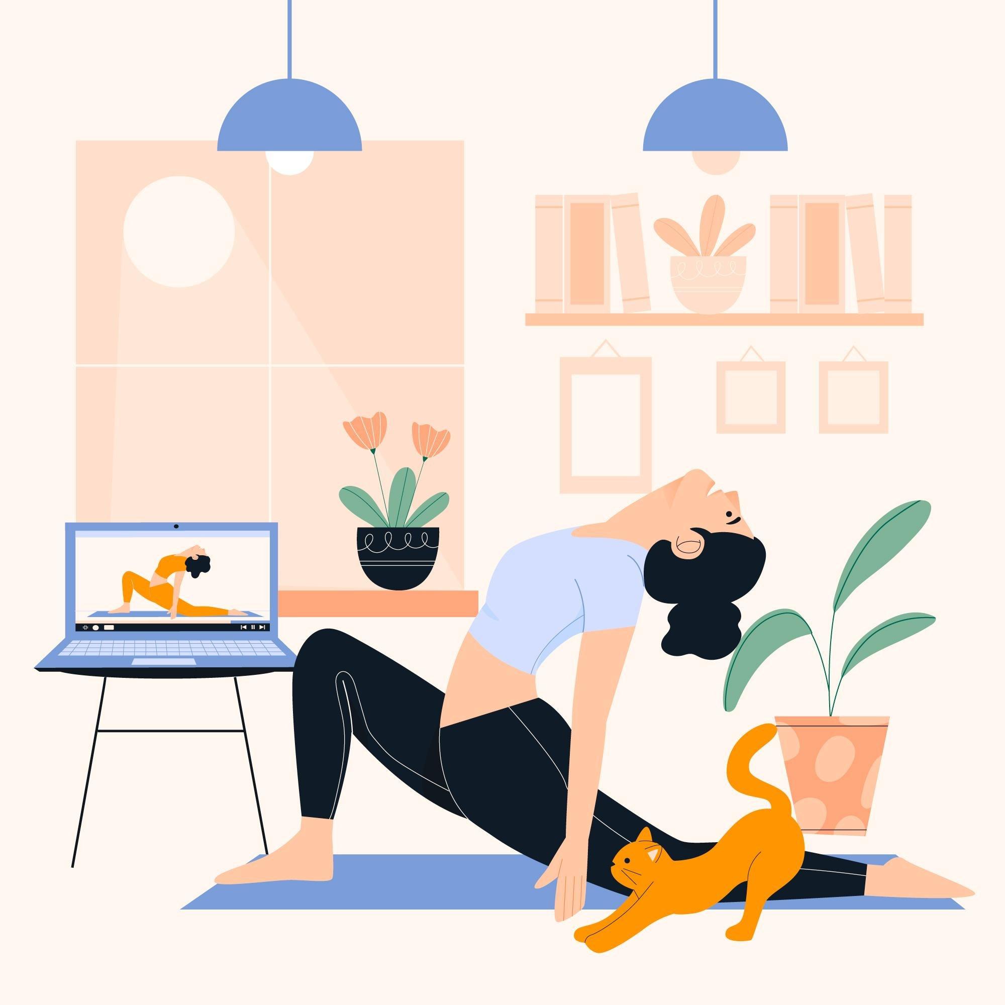 Yoga Online In Dubai