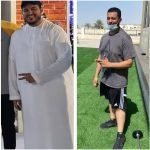 PT In Abu Dhabi Eslam - Client Body Transformation Before and After Image