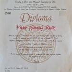 PT In Dubai Viktor - Personal Training Certificate