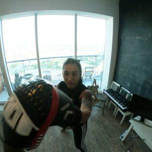 At Home Jiu Jitsu Training In Dubai With Marc