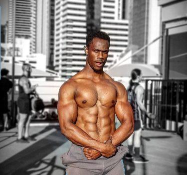 Body building personal training in Dubai with Coach Kat Ibrahim