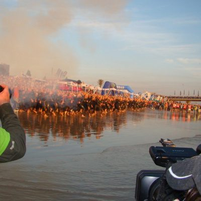 Jason Wagner - personal trainer from Abu Dhabi competes in Ironman