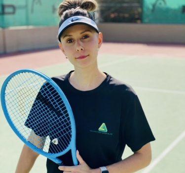 Female Tennis Coach in Abu Dhabi - Jojo