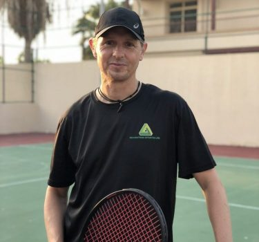 Lee Burell - Private Tennis Coaching In Abu Dhabi