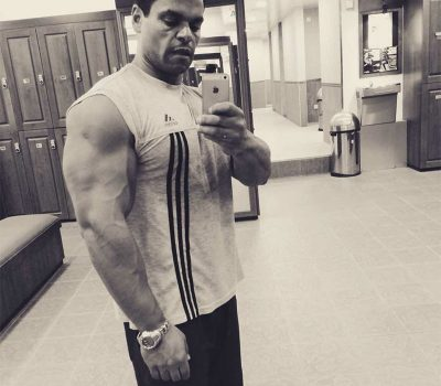 Personal Trainer In Dubai Aly - Muscle Buliding