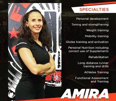 Personal training for ladies in Dubai with Coach Amira - Diet, nutrition and body toning