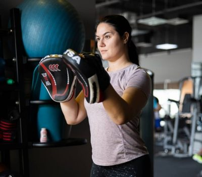 boxing coaching in Dubai for ladies with PT Dragana