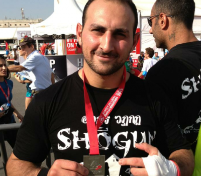 Boxing trainer - Self Defense Coach Dubai - Samer