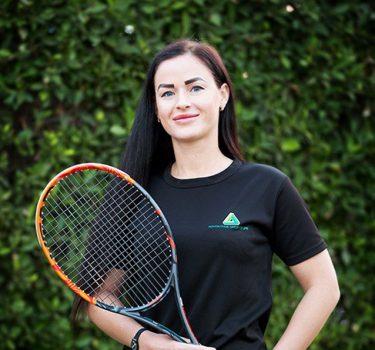 Abu Dhabi Tennis and Female Fitness Coach Alina