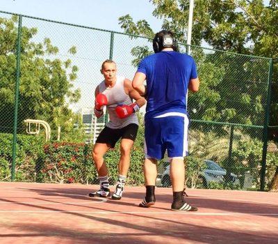 marc larsen - boxing coaching in Dubai for adults & children