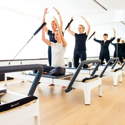 Pilates reformer group sessions in Abu Dhabi & Dubai