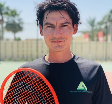 professional tennis coaching lessons in Abu Dhabi with SHUKHRAT