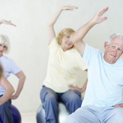Yoga personal trainer for seniors and the elderly in Abu Dhabi, Dubai & Sharjah