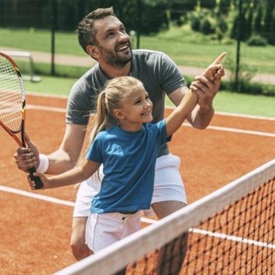 tennis for childrens fitness in Abu Dhabi and Dubai