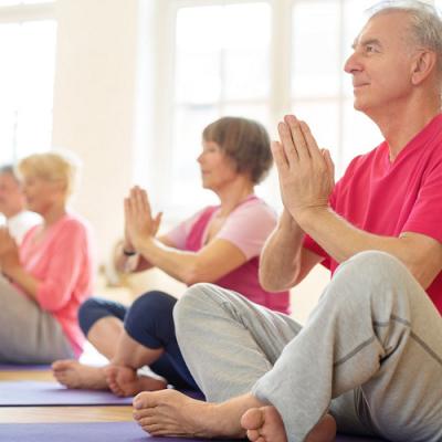 yoga for seniors in the uae